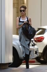 Kate Beckinsale Heading to the gym in Los Angeles