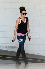 Kate Beckinsale Leaving an early morning gym session in Los Angeles