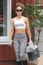 Kate Beckinsale Shopping at the Brentwood Country Market