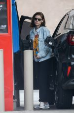 Kate Mara At a gas station in Beverly Hills