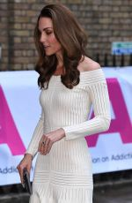 Kate Middleton At First annual gala dinner in recognition of Addiction Awareness Week in London