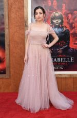 """Katie Sarife Arrives for the World Premiere of """"Annabelle Comes Home"""" at the Regency Village theatre"""