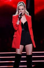 "Kelsea Ballerini Performs ""Miss Me More"" during the 2019 CMT Music Awards at Bridgestone Arena in Nashville"