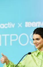 Kendall Jenner At Paint Positivity: Because Words Matter Event in NYC