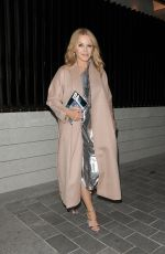 Kylie Minogue Arriving at The Berkeley Hotel in London