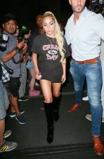 Lady Gaga Leaving her hotel in NYC