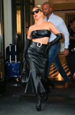 Lady Gaga Leaving The Mark Hotel in New York City