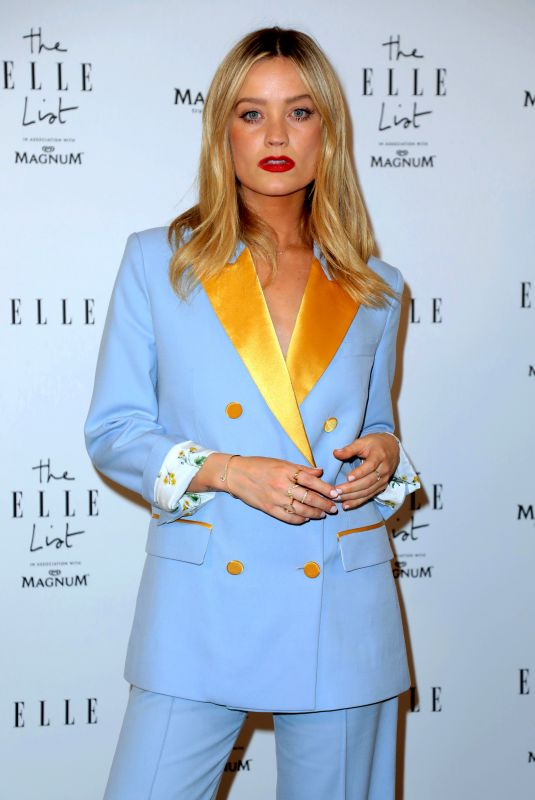 Laura Whitmore At The ELLE List in Association with MAGNUM Ice Cream in London