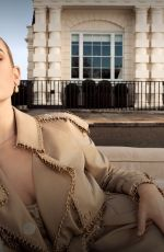Lily James -My Burberry Fragrance Campaign 2019