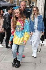 Little Mix Seen at KISS FM in London