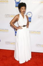 Logan Browning Attends the 28th Annual NAACP Theatre Awards held at Millennium Biltmore Hotel