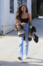 Madison Beer After some retail therapy on Robertson Blvd with a friend in West Hollywood