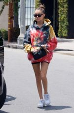 Madison Beer Getting coffee on Melrose Place in LA