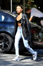 Madison Beer Outside the Sunset Marquis in West Hollywood