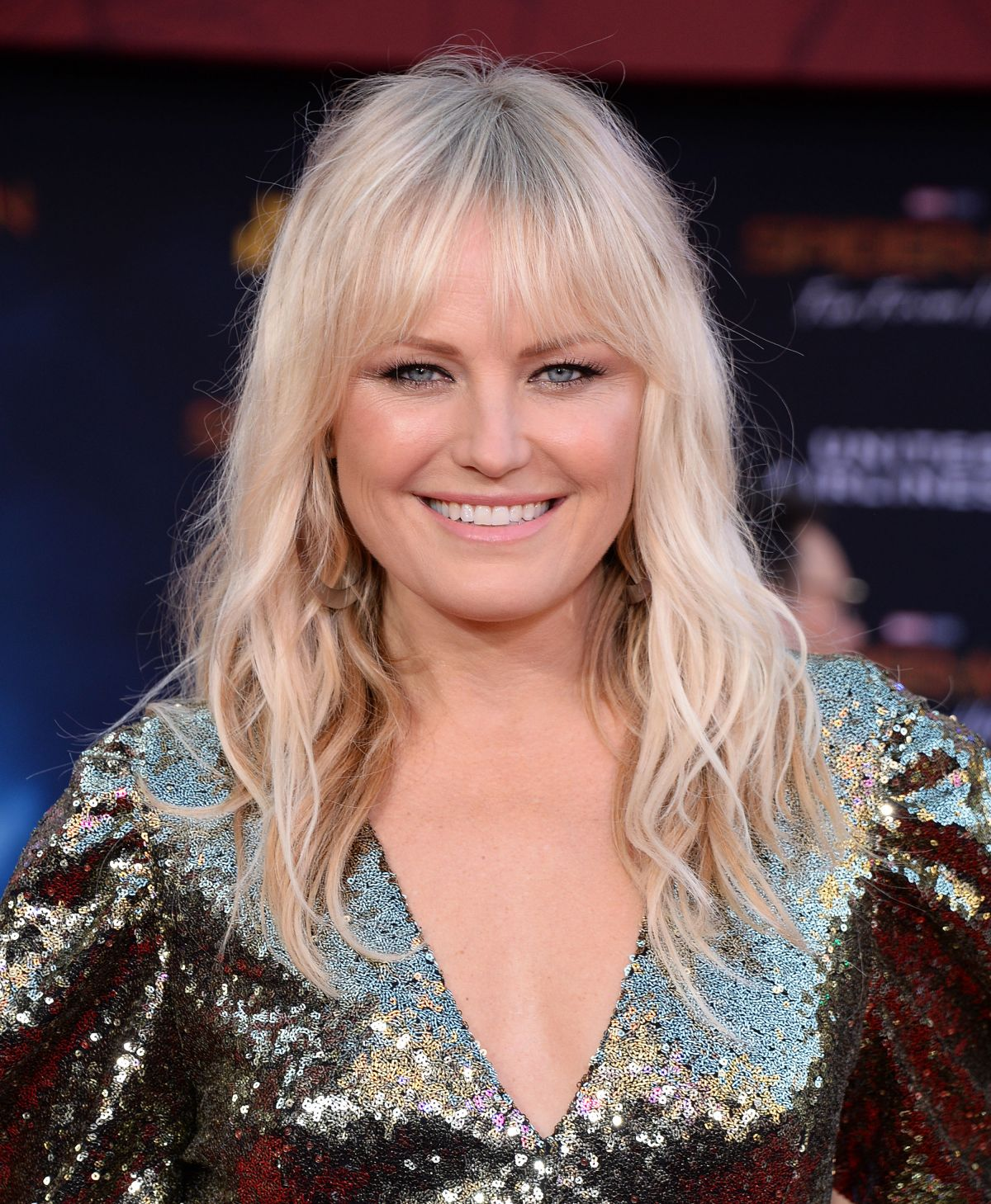 Malin Akerman At Spider-Man Far From Home premiere in