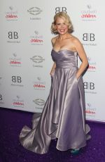 Melinda Messenger Arrives for the Caudwell Children Butterfly Ball charity event at the Grosvenor House, Park Lane, London