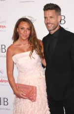 Michelle Heaton Arrives for the Caudwell Children Butterfly Ball charity event at the Grosvenor House, Park Lane, London