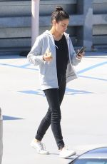 Mila Kunis Eating an apple out in Beverly Hills