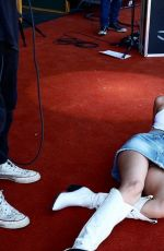 Miley Cyrus Lying on the red carpet at Primavera Sound in Spain