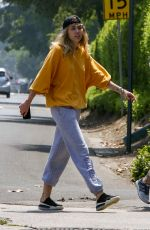 Miley Cyrus Out for a walk in LA