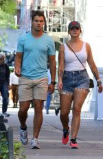 Miranda Lambert Seen Out on 5th Avenue in New York City