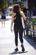 Olivia Cooke Going to a workout in New York City