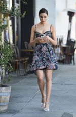Olivia Culpo Steps out with friends at Larchmont village in LA