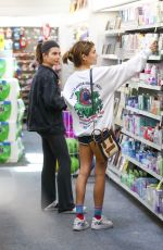 Olivia Jade and her sister Isabella Rose Giannulli pick up a few items from Rite-Aid in LA