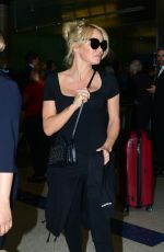 Pamela Anderson At LAX Airport in Los Angeles