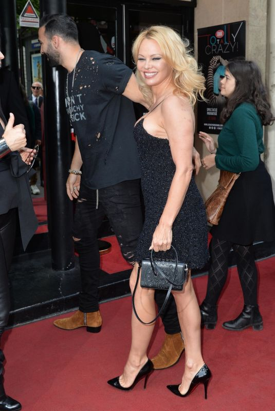 Pamela Anderson At the Premiere of the show