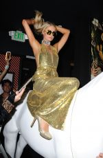Paris Hilton At Play the DJ at Nightingale for sbe Nightlife
