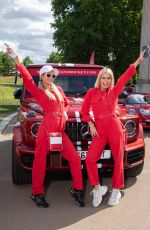 Paris Hilton Attends the Cash & Rocket Photocall at Wellington Arch in London