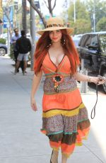 Phoebe Price Gets busty for some Beverly Hills shoppingc