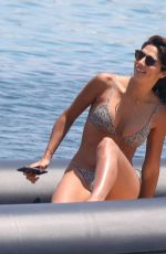 Pia Miller Spotted vacationing on Mykonos
