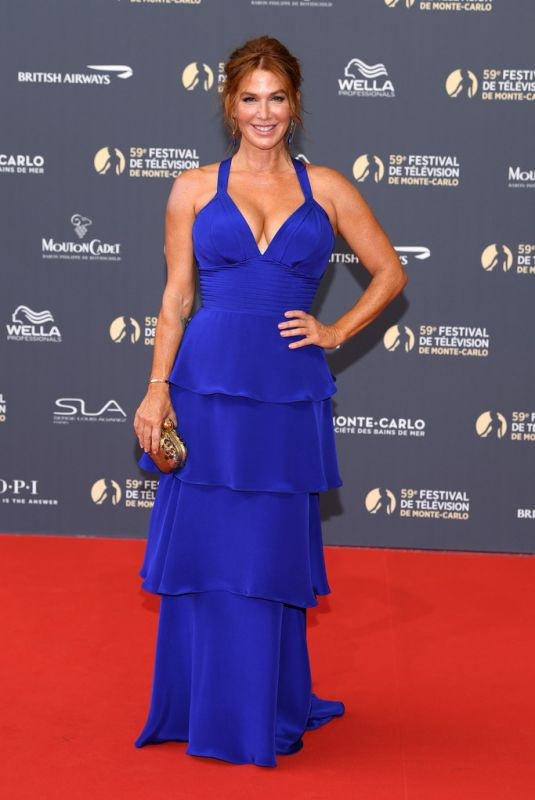 Poppy Montgomery At opening ceremony of the 59th Monte Carlo TV Festival