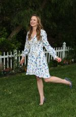 Rachel Boston Visits Hallmark