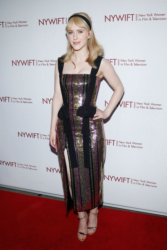Rachel Brosnahan Attends the New York Women in Film and Television