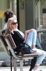 Sarah Michelle Gellar At a park in Pacific Palisades