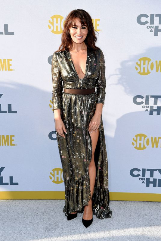 Sarah Shahi At Showtime City on a hill - New York
