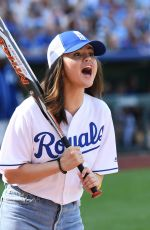 Selena Gomez At Big Slick 2019 Softball Game in Kansas City