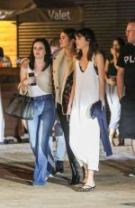 Selena Gomez Leaving Nobu with her girlfriends after having dinner together in Malibu