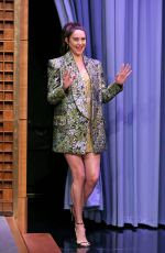 Shailene Woodley At The Tonight Show Starring Jimmy Fallon Episode 1077