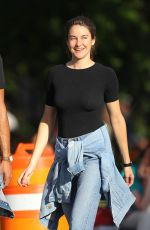 Shailene Woodley Out in NYC