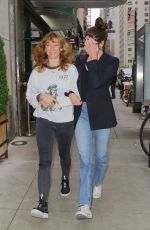 Shailene Woodley Out with a friend in NYC