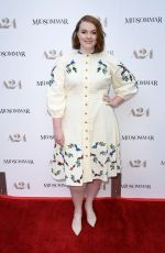 Shannon Purser Attends the premiere of A24