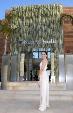 Sophia Bush Attends an intimate evening of music and culture hosted by Spotify and Hulu during Cannes Lions 2019 at Villa Mirazuron