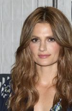 """Stana Katic Attends the Build Series to discuss """"Absentia"""" at Build Studio in New York City"""