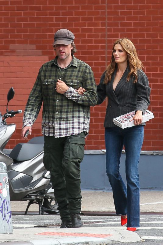 Stana Katic Out in New York