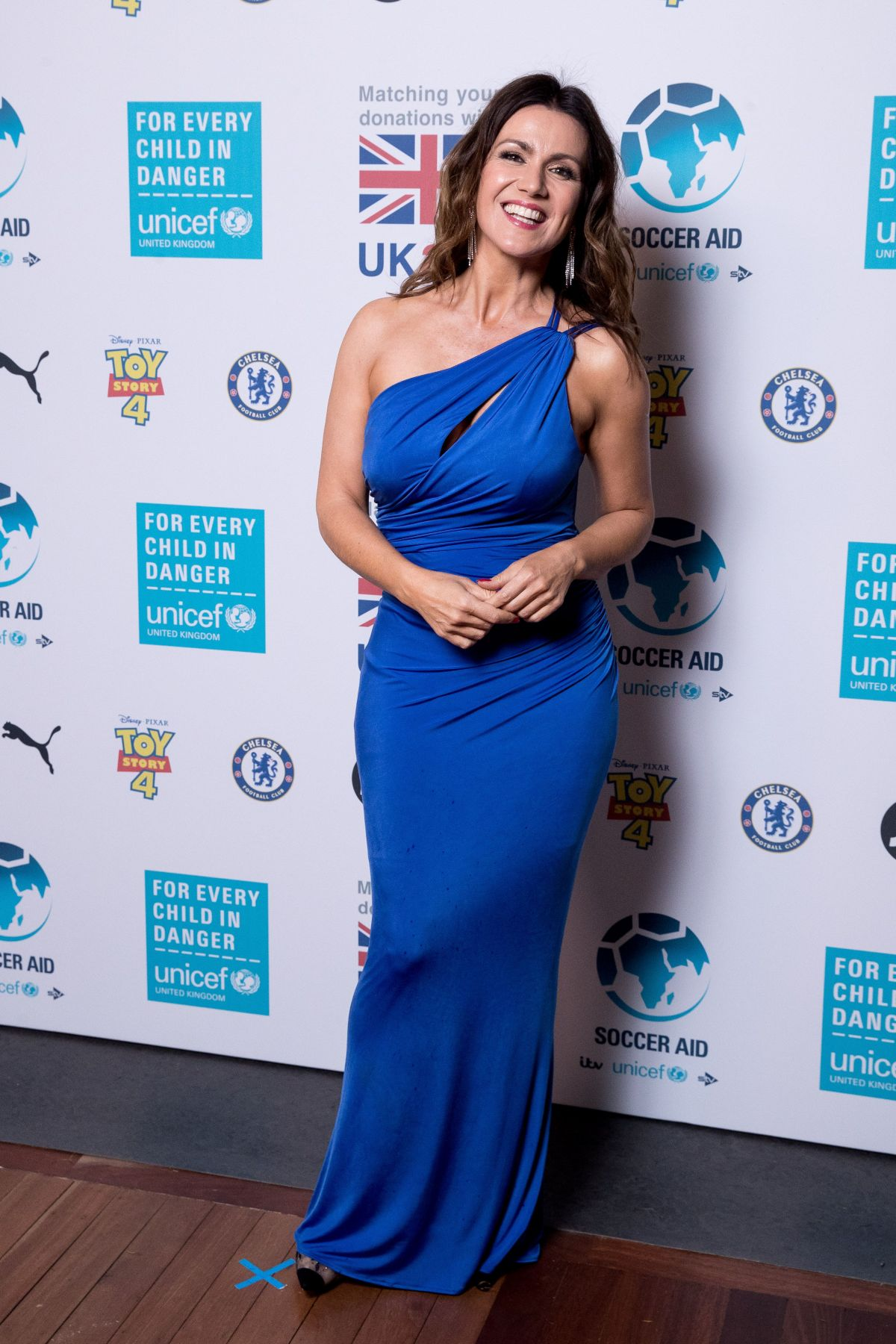 Susanna Reid At Soccer Aid For Unicef Gala Science Museum