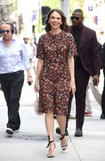 Sutton Foster Visits the Build Studios in New York